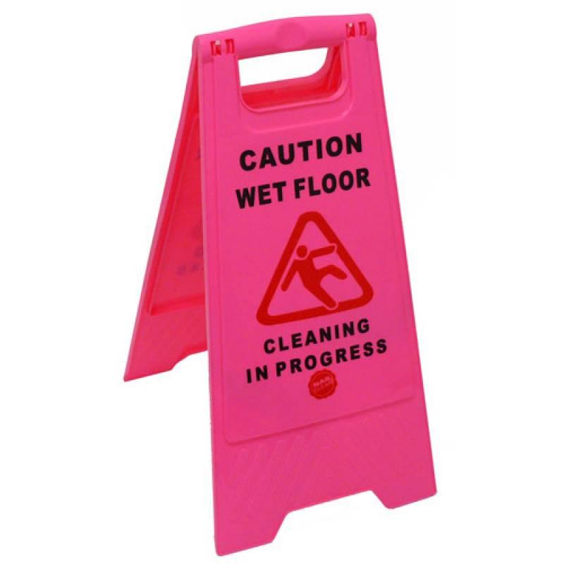 Pink Caution